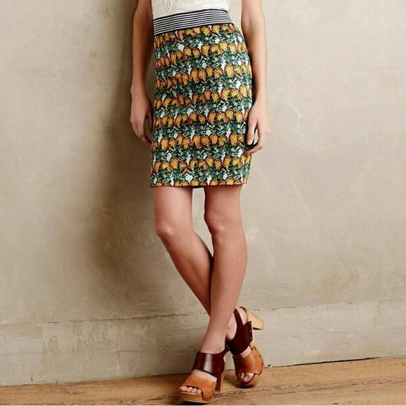 Anthropologie Dresses & Skirts - Anthropologie Pineapple Grove Pencil Skirt